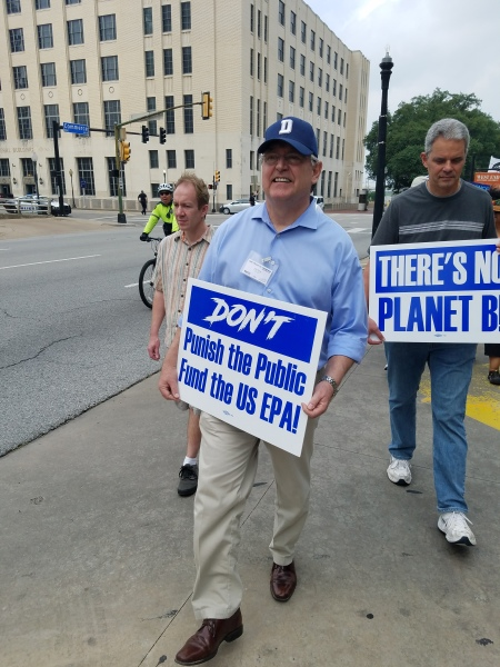 Peoples' March for Climate Change Dallas