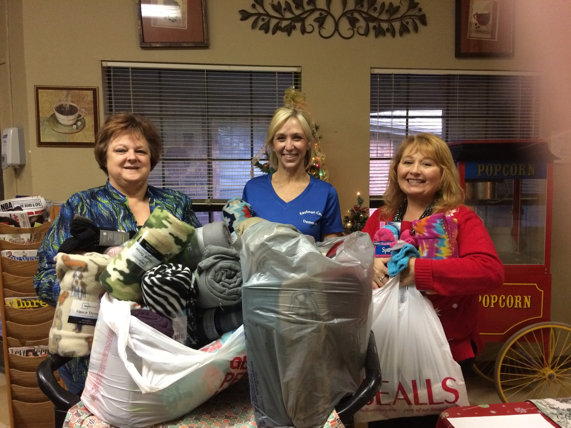 Christmas Socks and Blanket Collections for Windsor Nursing Home