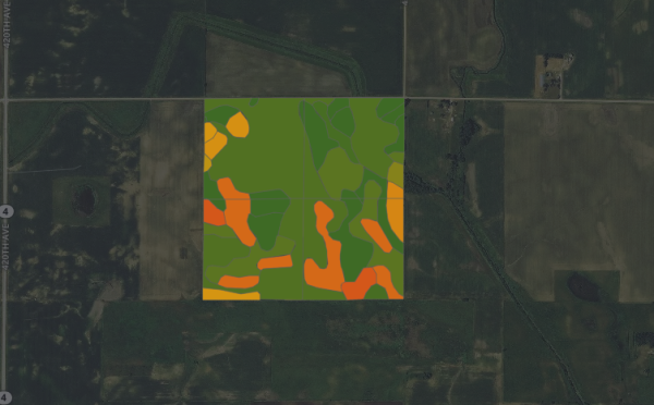 158 acres - Palo Alto County, Iowa