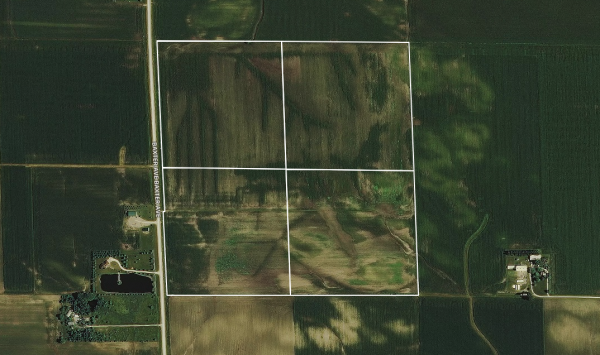 160 acres - Buchanan County, Iowa