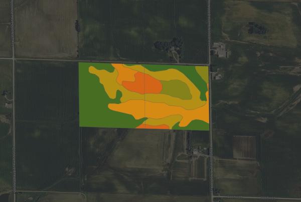 $5,975/ac: 80 acres - Buchanan County, Iowa