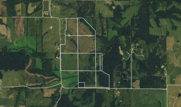 $3,800/ac: 290 acres - Clarke County, Iowa