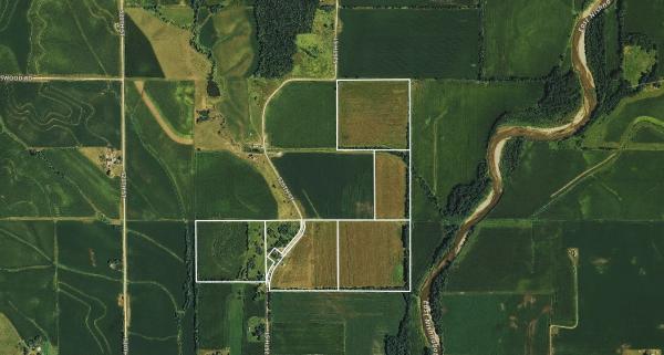 $5,888/ac: 170 acres - Pottawattamie County, Iowa