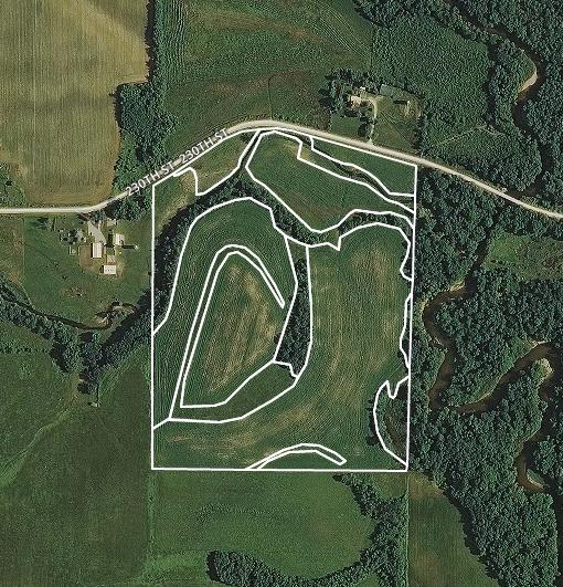 $9,508/ac: 51 acres - Winneshiek County, Iowa