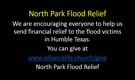North Park Flood Relief