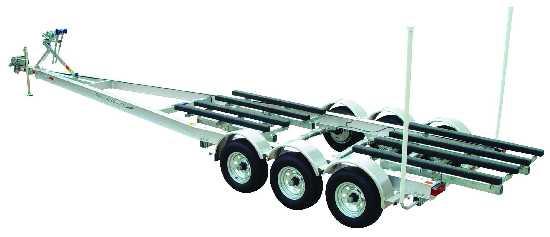 EZLoader Aluminum Torsion Axle