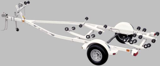 EZLoader Roller Single Axle