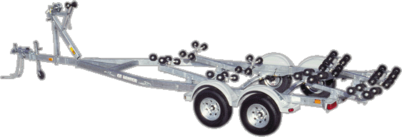 EZLoader Roller Tandem Axle