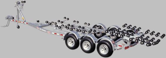 EZLoader Roller Triple Axle