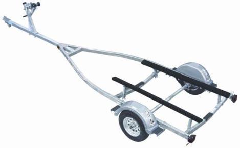 King Bunk Single Axle