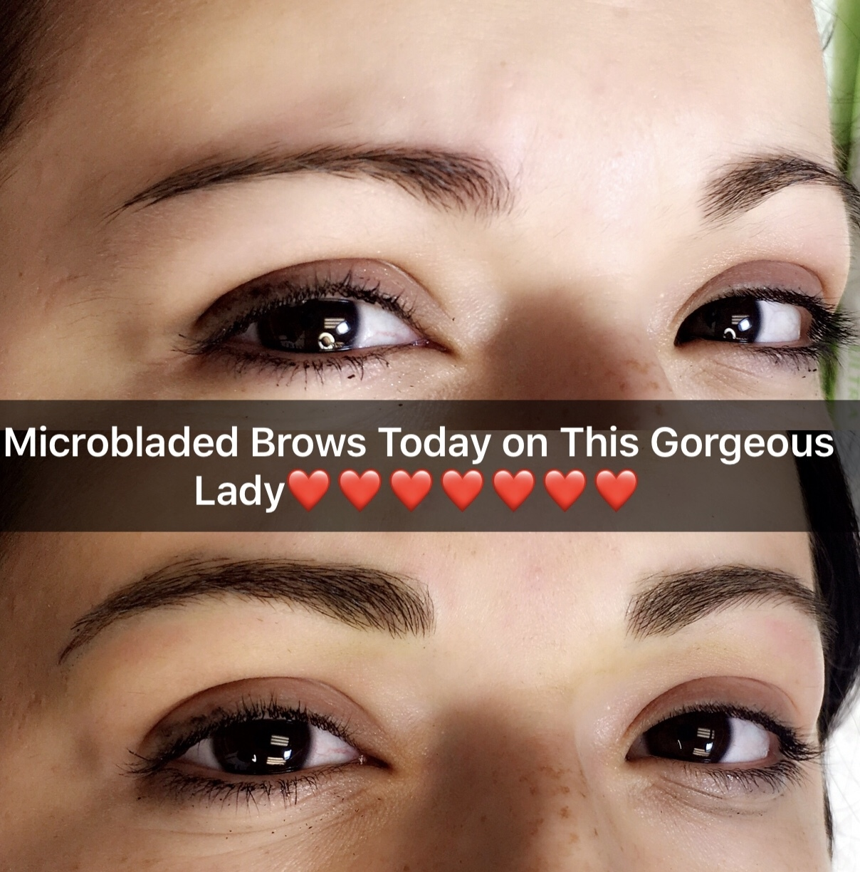 Microblading Brows -Moderate Brow Adjustment