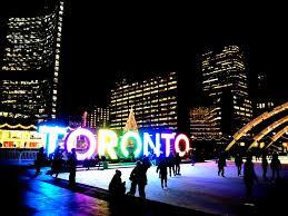 Nathan Philp Square in Toronto, Ontario, Canada.