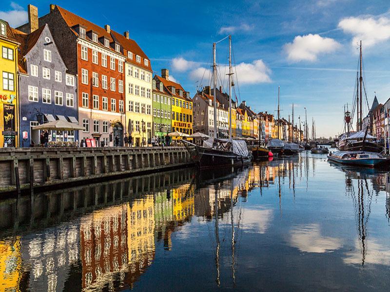 River View of Copenhagen, Denmark