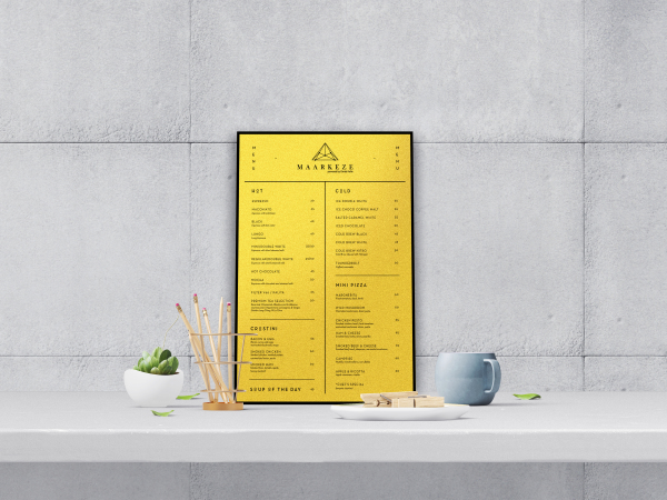 Maarkeze - Menu & Prints