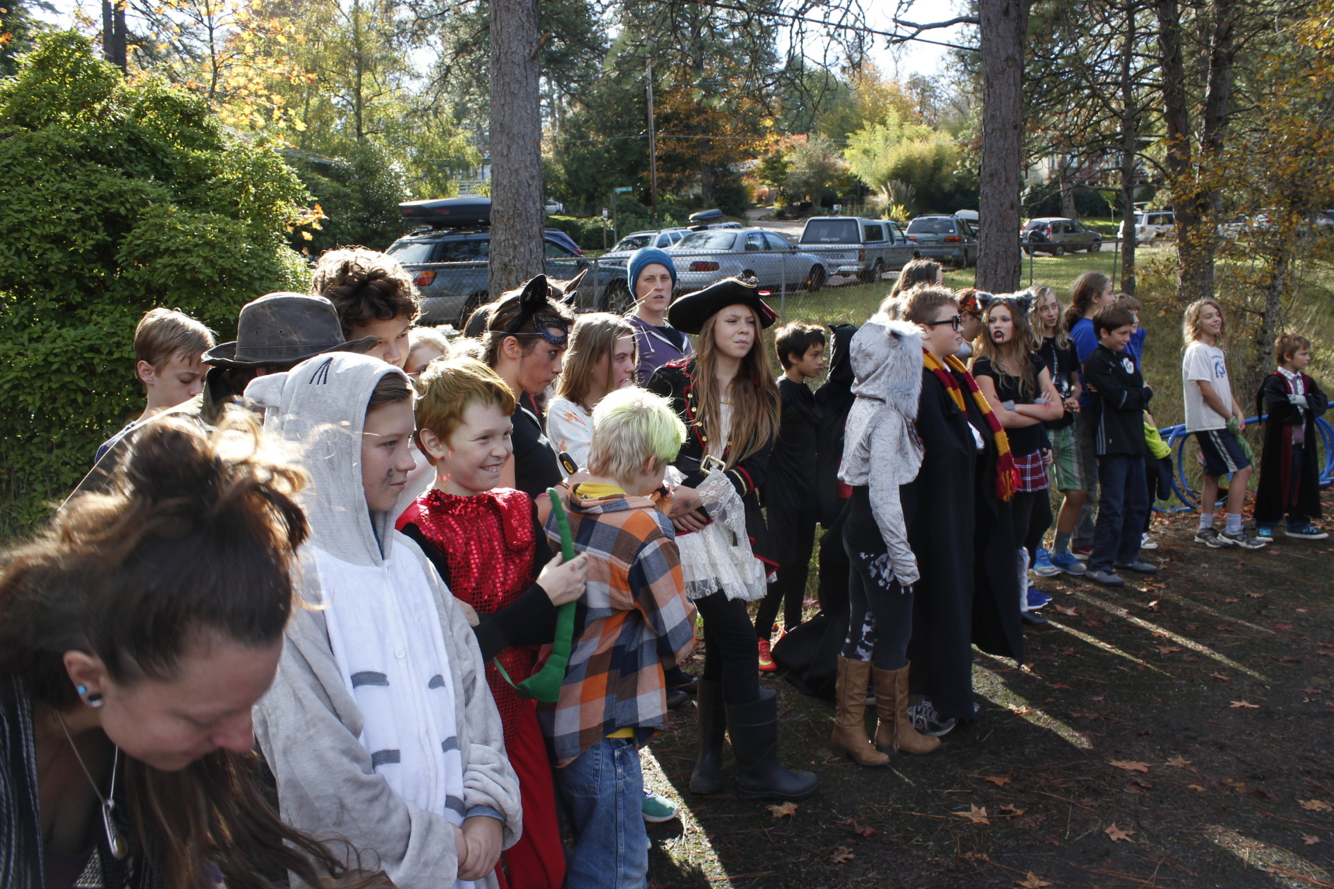 Village School Halloween Parade - 2016 [click image to see entire picture]