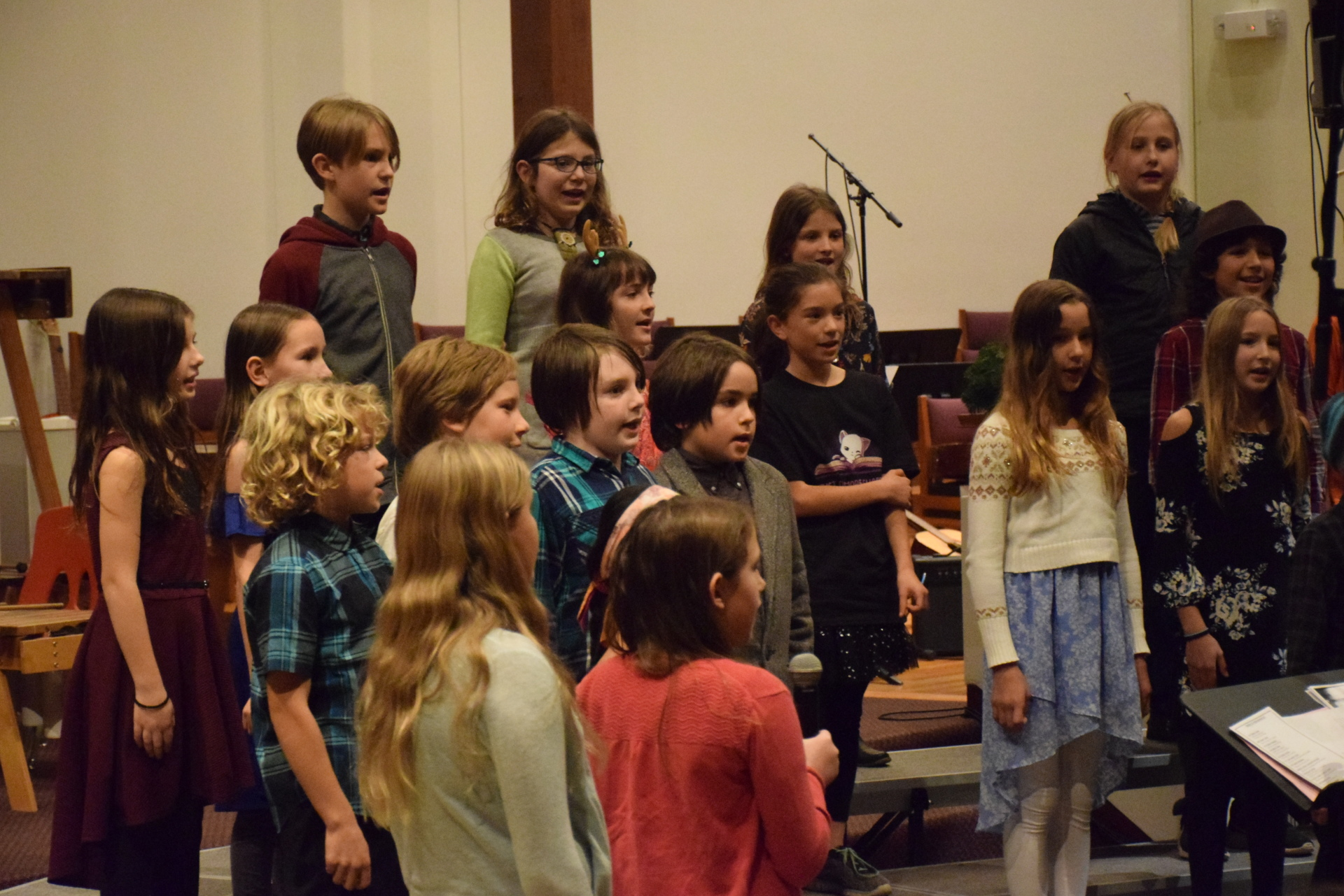 5th Grade class performing at the Winter Concert [click image to see entire picture]