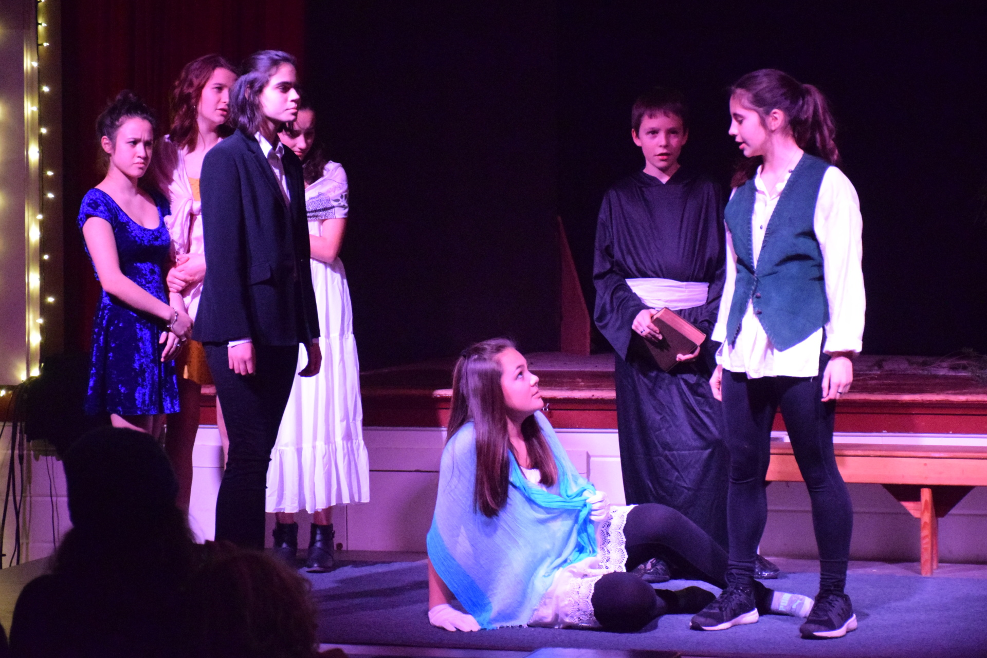 "8th Grade performance of ""Much Ado About Nothing"" [click image to see entire picture]"