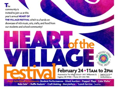 Heart of the Village is coming up soon! [click image to see entire picture]