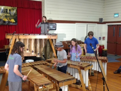 Marimba students at play [click image to see entire picture]