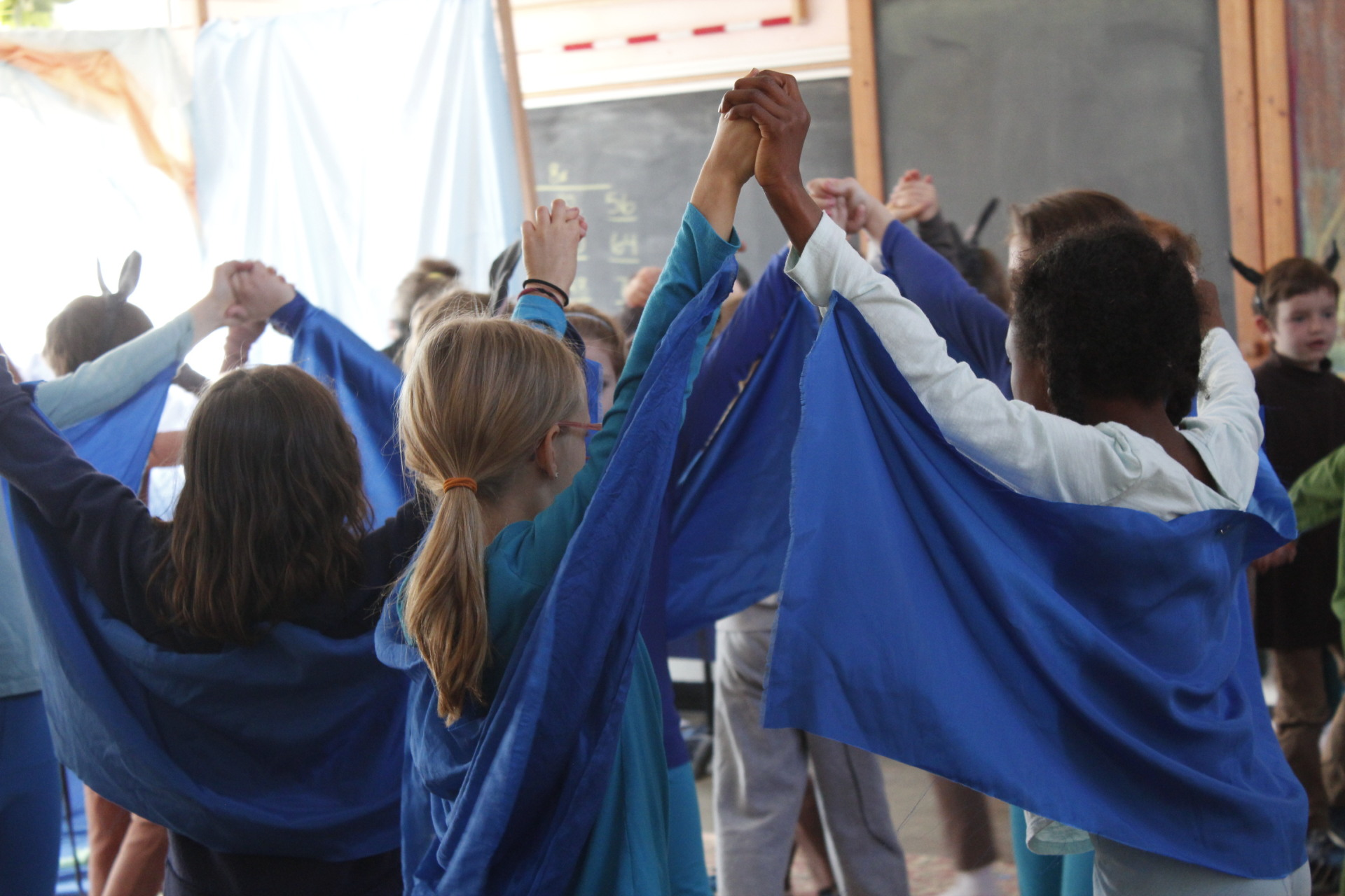 """2nd graders perform """"The Story of Jumping Mouse"""" [click image to see entire picture]"""