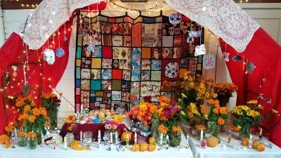 Dia de los Muertos Ofrenda [click image to see entire picture]