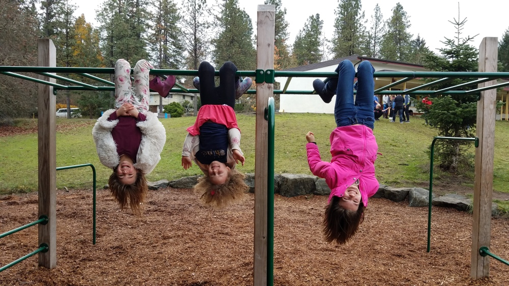 Hazel, Piper, and Autmn hanging out at recess [click image to see entire picture]