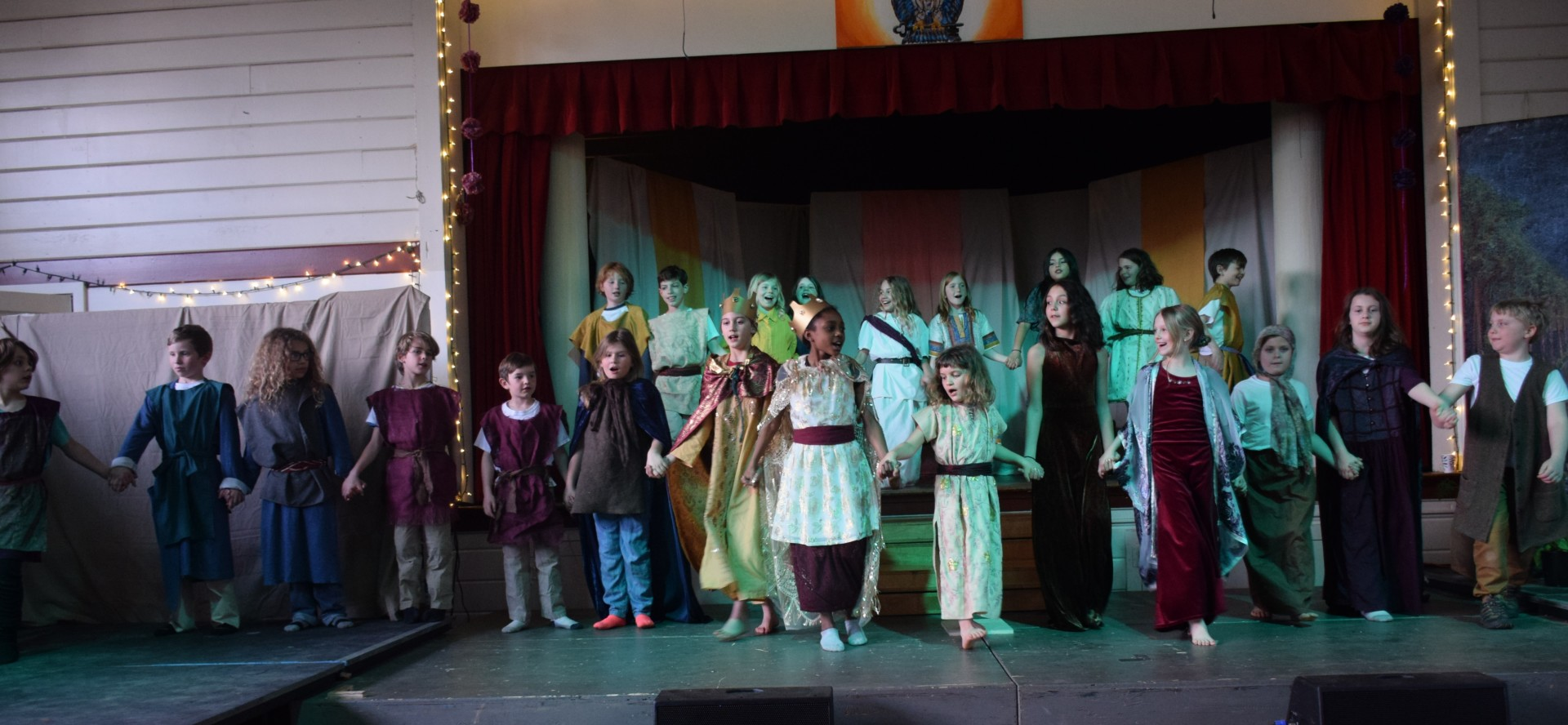 3rd graders perform The Story of Esther [click image to see entire picture]