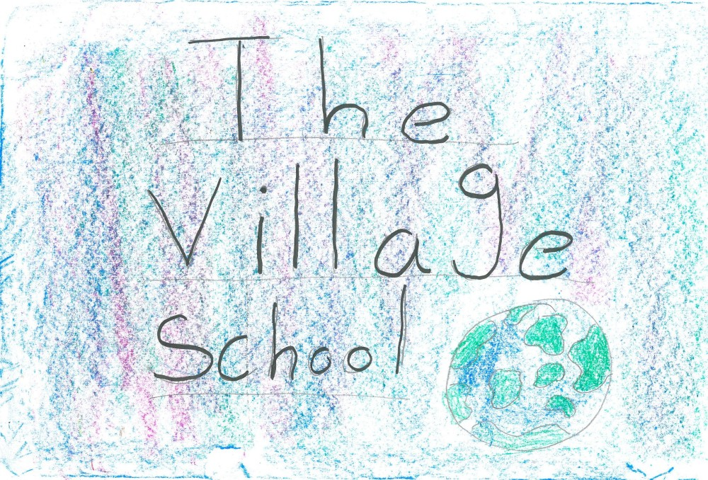 Village School poster by Lachlan and Emily [click image to see entire picture]