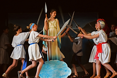 "The 5th Grade presents ""Riders on the Storm"" [click image to see entire picture]"