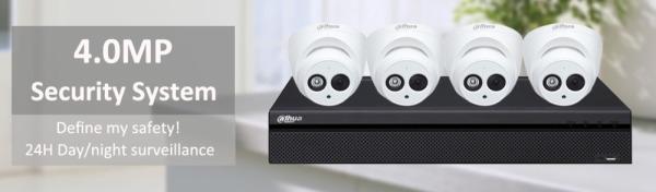 Dahua 4MP IP Camera Kit $599