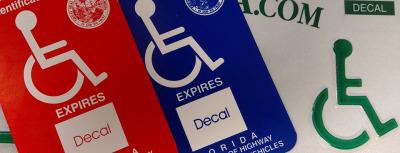 Florida Handicap Placard Renewal