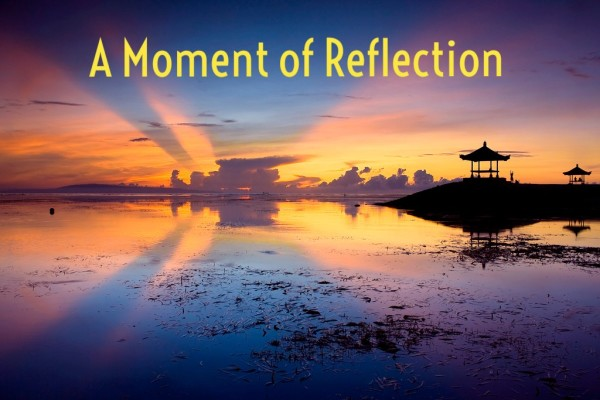 A Moment of Reflection with Julio Carvalho