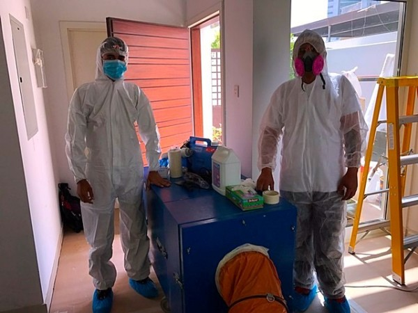 Specialized Cleaning Team