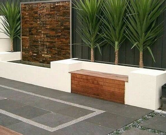 Seating Area - Landscaping