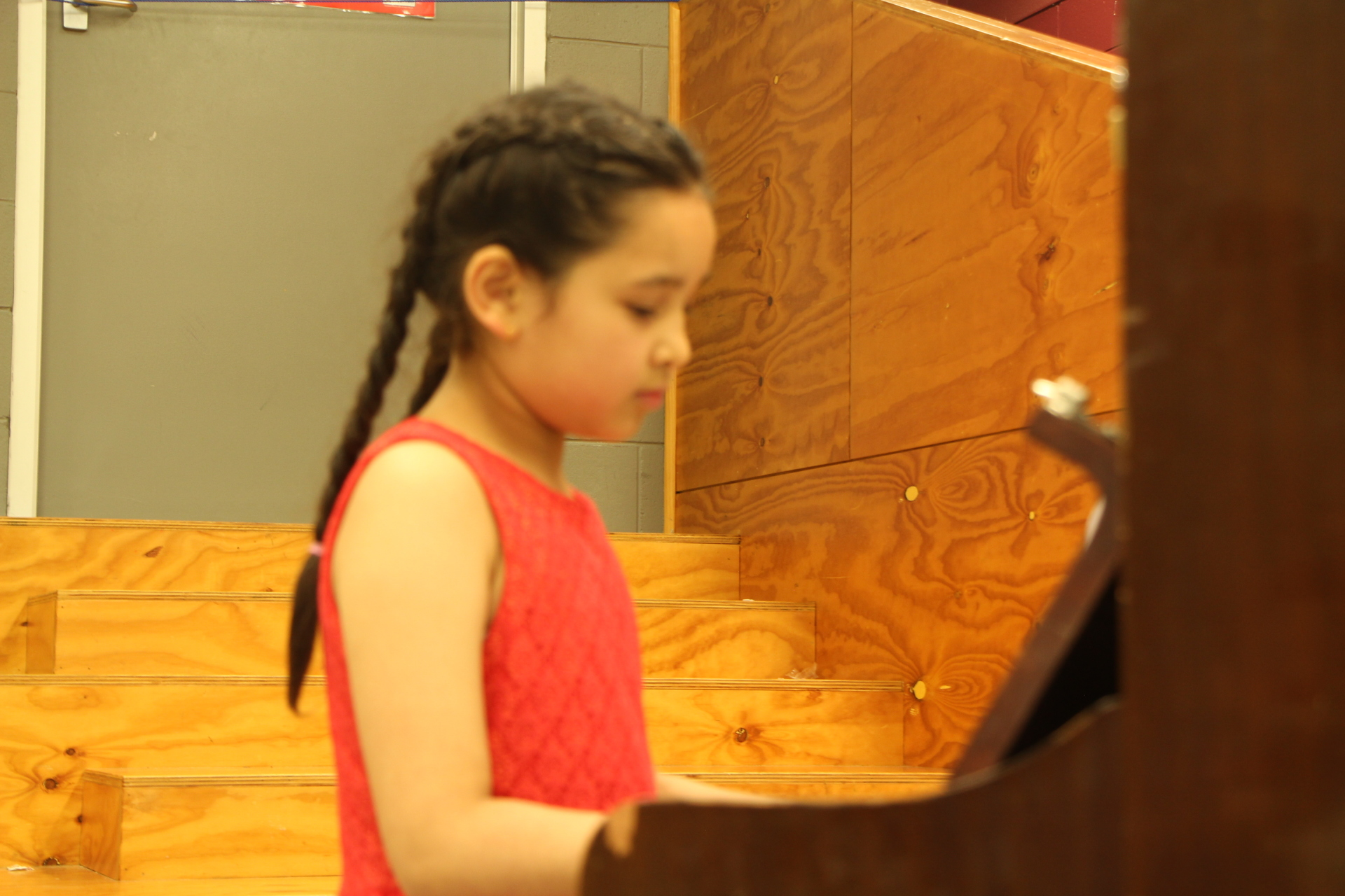 Piano performance at End of Year Ooncert 2017