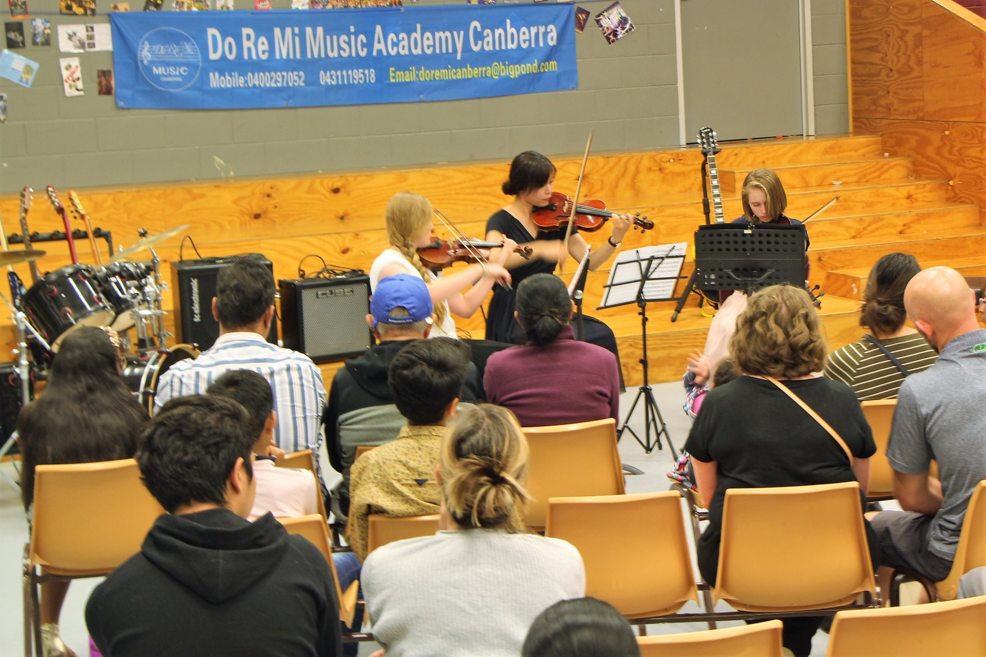 Do Re Mi Canberra Music Academy in 2017