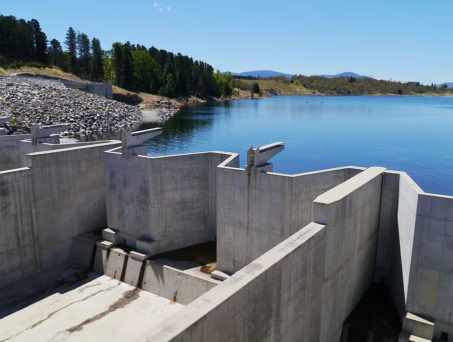 GFRP for dams
