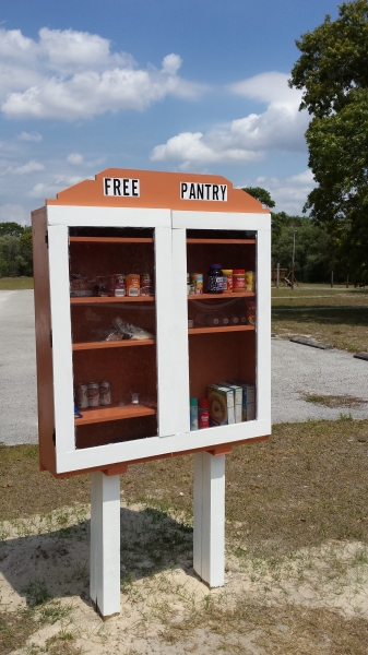 The Free Pantry.  Just one way we seek to help the community.