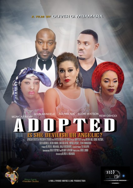 ADOPTED is a movie about a specially gifted adopted child with paranormal abilities who become the principal suspect when family members begin to drop dead around her.