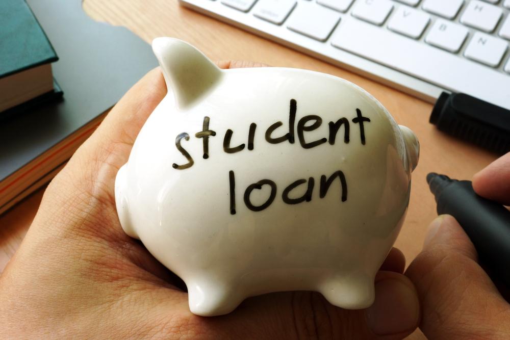 Student loan piggy bank