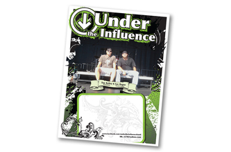 Under the Influence Logo and Band Poster Creation