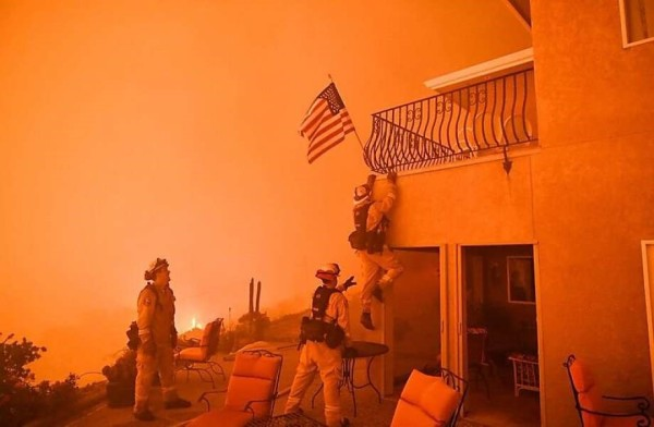 California Fires and United States Carbon Emission
