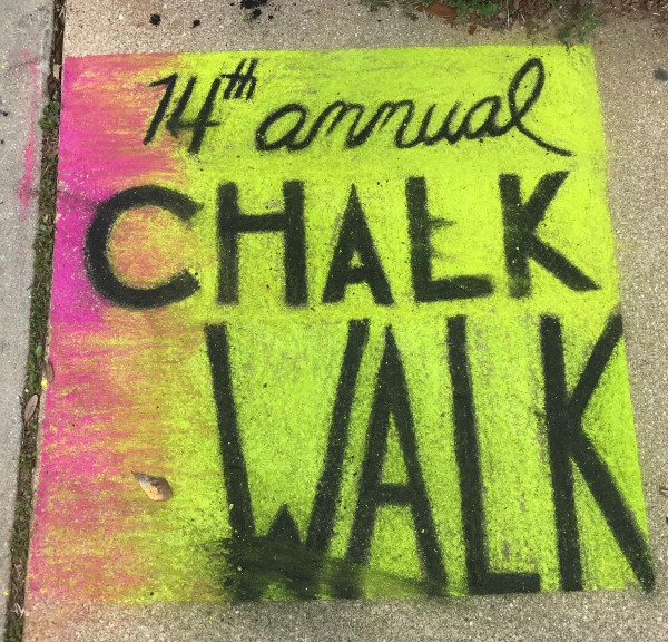 14th Annual Chalk Walk