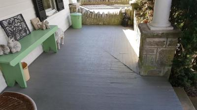 Porch Remodel - Before