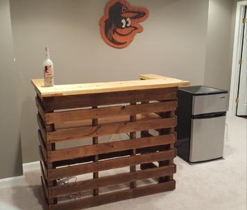Hand made Oriole bar