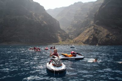 Sea Doos in Los Gigantes