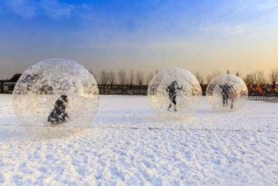 Winter Zorbing