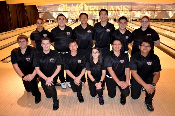 2018-2019 UNLV Bowling Team