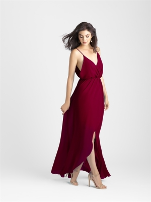 Trend we LOVE: Burgundy Bridesmaid Dresses