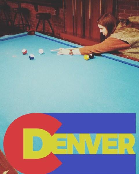 Pool at Zanzibar in downtown Denver